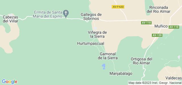 Mapa de Hurtumpascual