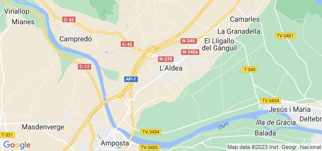 Mapa de Aldea