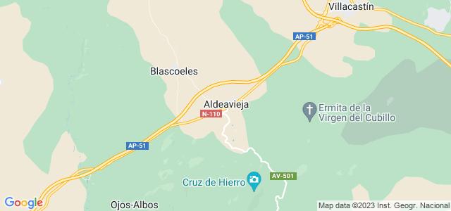 Mapa de Santa María del Cubillo