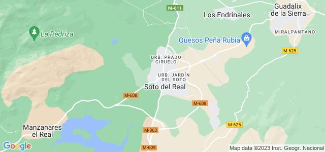 Mapa de Soto del Real