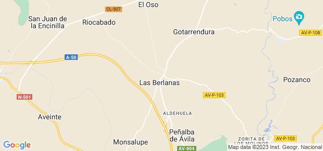 Mapa de Berlanas