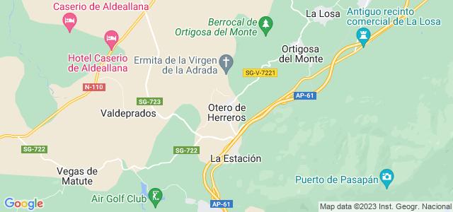 Mapa de Otero de Herreros
