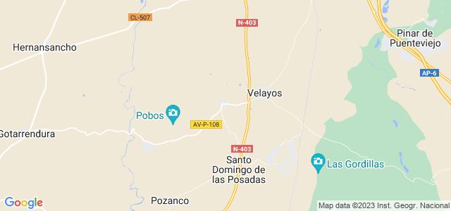 Mapa de Vega de Santa María