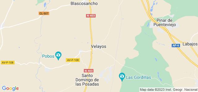 Mapa de Velayos