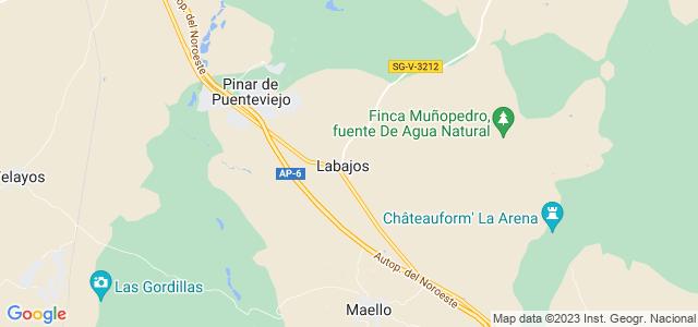 Mapa de Labajos