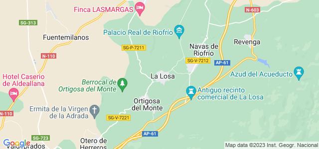 Mapa de Losa
