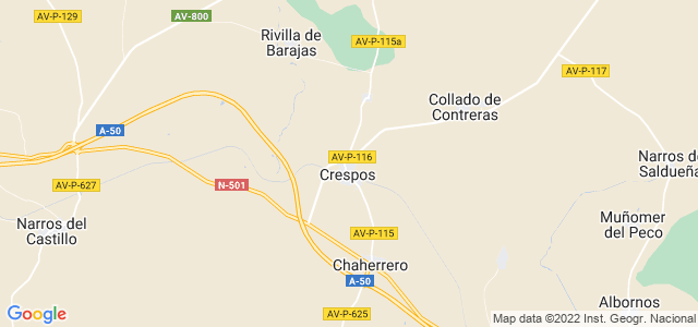 Mapa de Crespos
