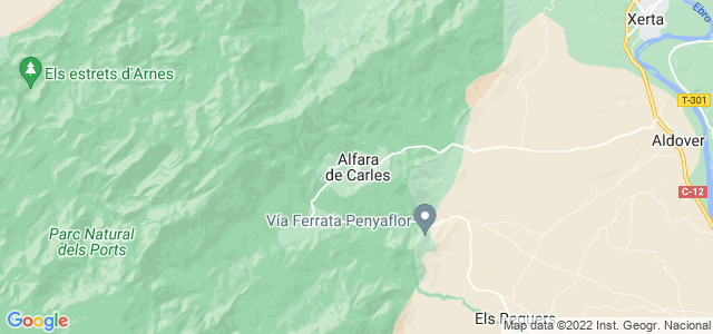 Mapa de Alfara de Carles