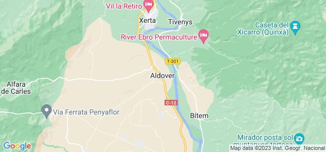 Mapa de Aldover