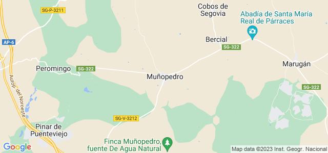 Mapa de Muñopedro