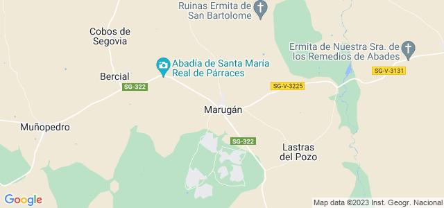Mapa de Marugán
