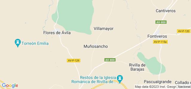 Mapa de Muñosancho