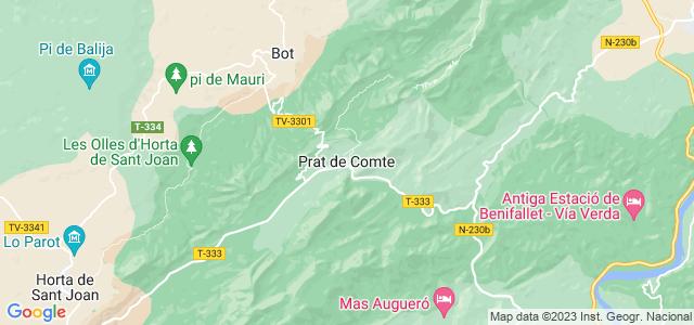 Mapa de Prat de Comte