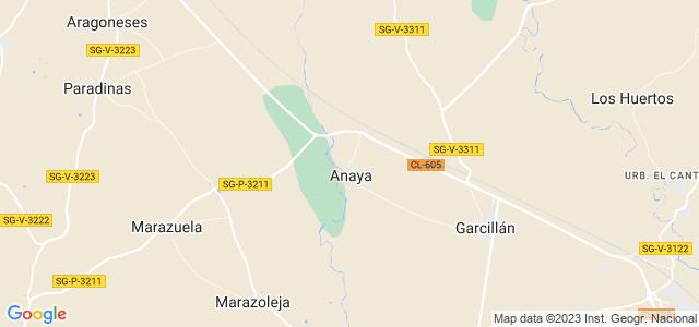 Mapa de Anaya