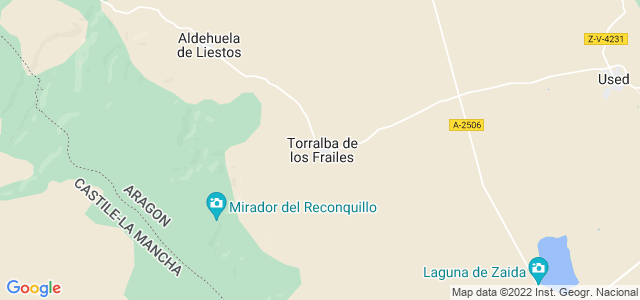 Mapa de Torralba de los Frailes