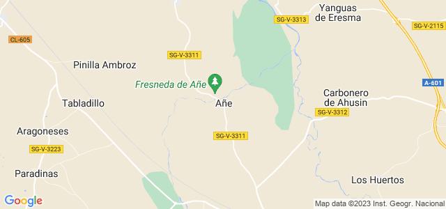 Mapa de Añe