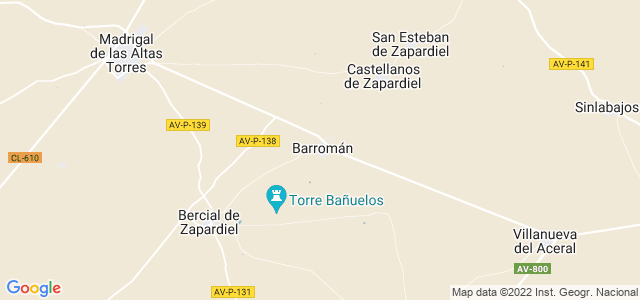 Mapa de Barromán