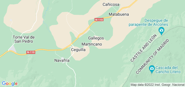 Mapa de Aldealengua de Pedraza