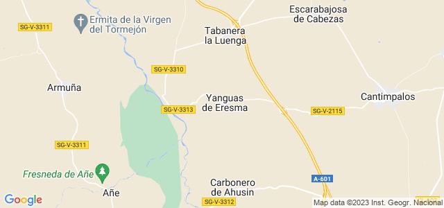 Mapa de Yanguas de Eresma