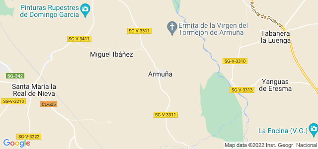 Mapa de Armuña