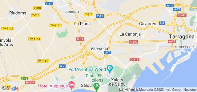Mapa de Vila-seca