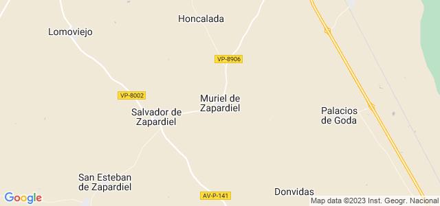 Mapa de Muriel