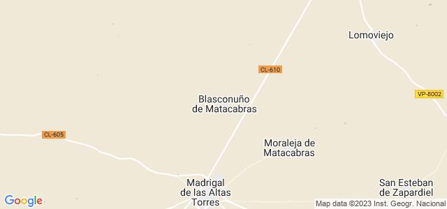Mapa de Blasconuño de Matacabras