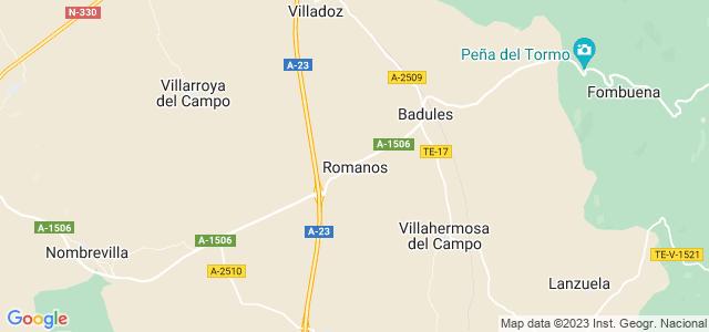 Mapa de Romanos
