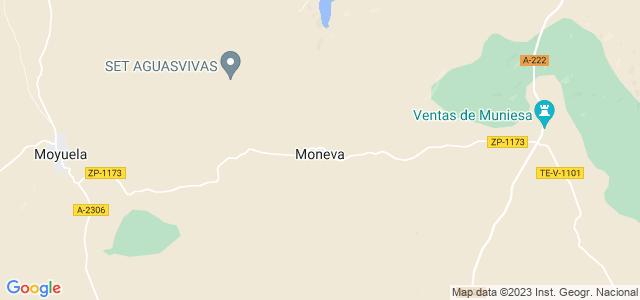 Mapa de Moneva