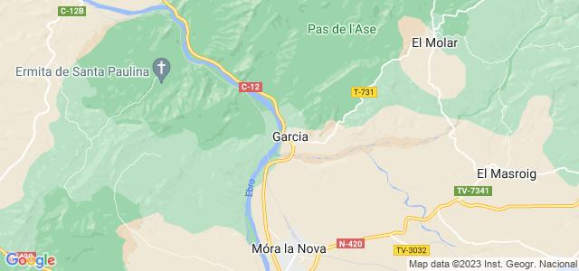 Mapa de Garcia