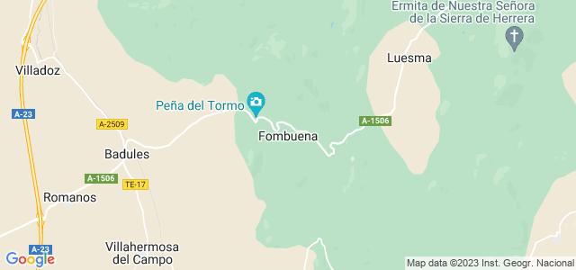 Mapa de Fombuena