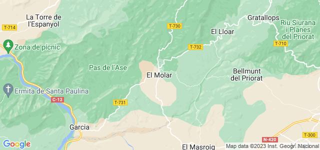 Mapa de Molar