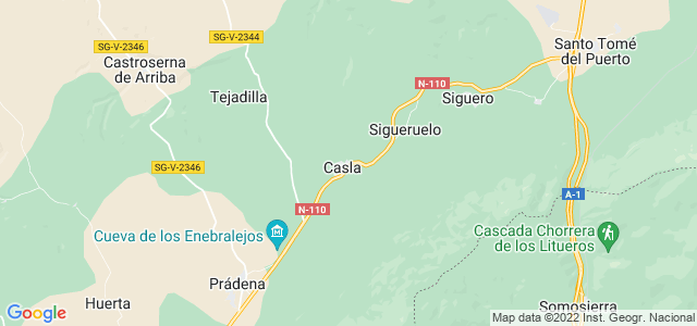 Mapa de Casla