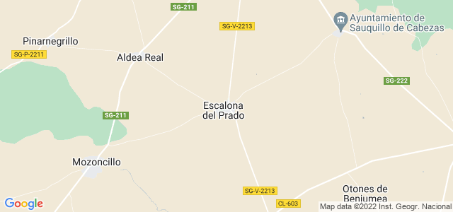 Mapa de Escalona del Prado