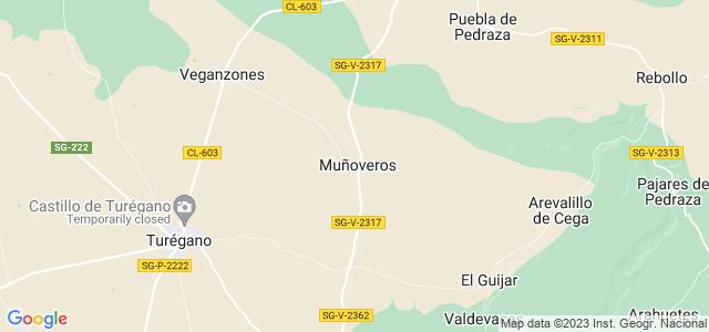 Mapa de Muñoveros