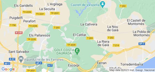 Mapa de Catllar