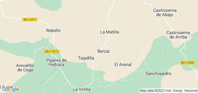 Mapa de Valleruela de Pedraza