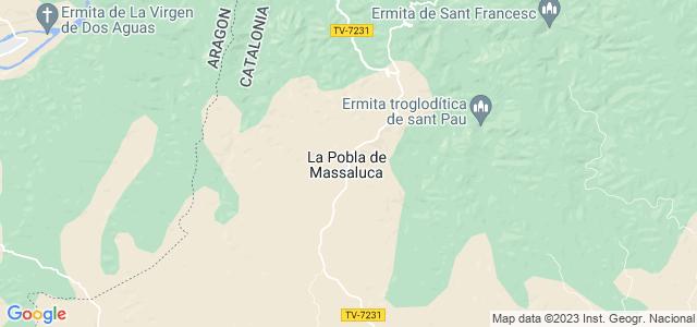Mapa de Pobla de Massaluca