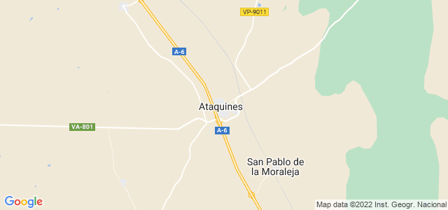 Mapa de Ataquines