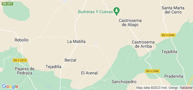 Mapa de Valleruela de Sepúlveda