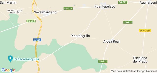 Mapa de Pinarnegrillo
