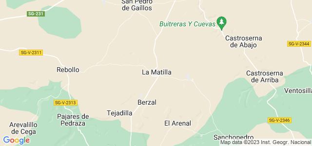 Mapa de Matilla
