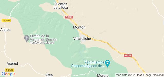 Mapa de Villafeliche