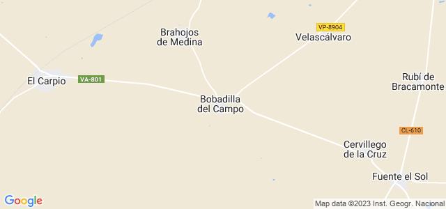 Mapa de Bobadilla del Campo