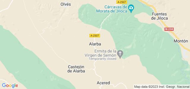 Mapa de Alarba