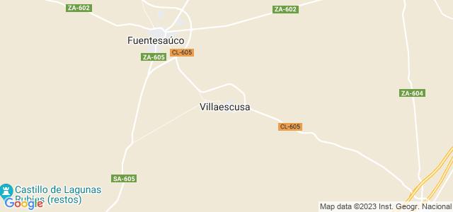 Mapa de Villaescusa