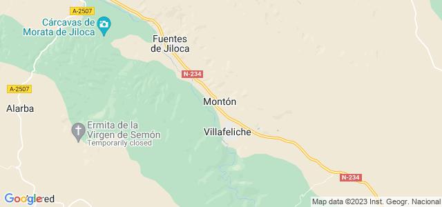 Mapa de Montón