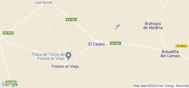 Mapa de Carpio