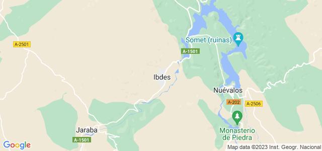 Mapa de Ibdes