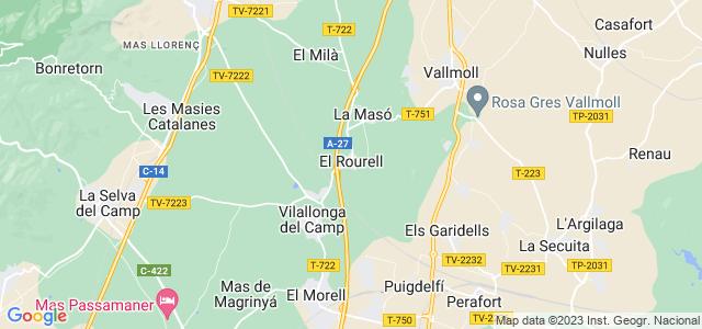 Mapa de Rourell
